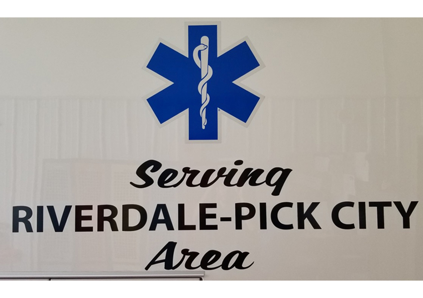 Riverdale Pick City Ambulance
